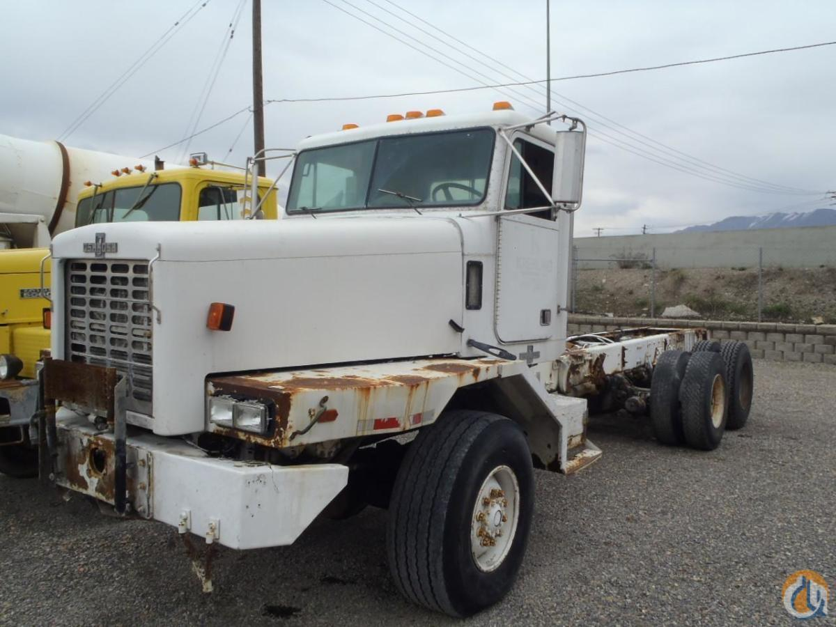 1996 OSHKOSH SR4 Cab  Chassis Trucks OSHKOSH F2344 Equipment Sales Inc. 18199 on CraneNetwork.com